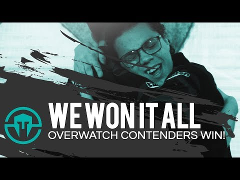 Our Team's Reaction To WINNING Overwatch Contenders