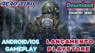 Country War Gameplay Android IOS - Country War - Android Battleground Survival Shooting Gameplay