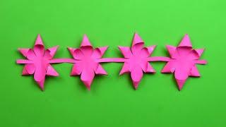 як зробити легко квітка з паперу своїми руками