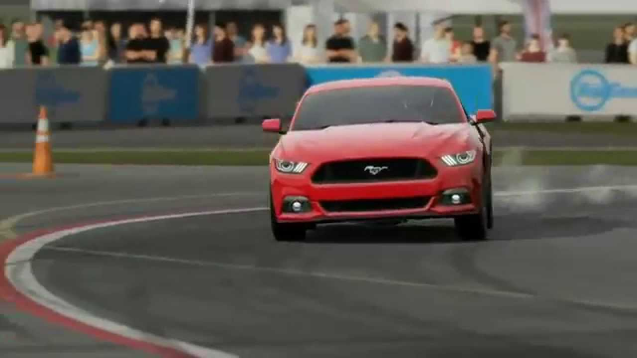 Top gear 2015 ford mustang gt lap