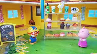 뽀로로와 친구들 빵집을 열었어요 장난감놀이 Pororo…