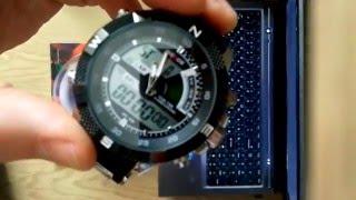 Годинник Weide 1104. Розпакування, тест на водонепроникність, огляд.(AliExpress)