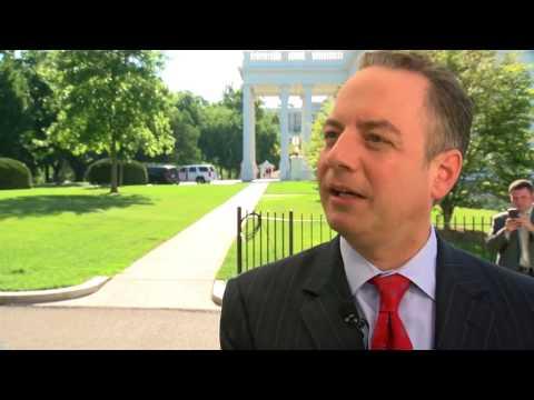 White House Chief of Staff Reince Priebus talks Foxconn development with Charles Benson