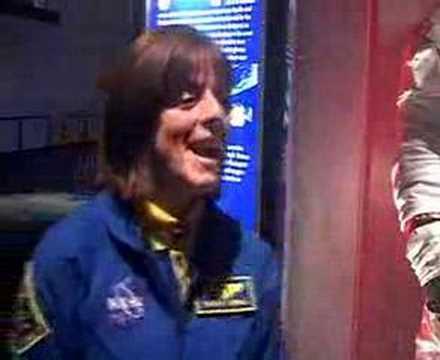 Astronaut Barbara Morgan - Teacher in Space on Shuttle Endeavour