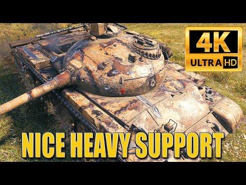 Obj. 140: HEAVY SUPPORT WORKS FINE – World of Tanks
