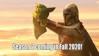 the Mandalorian Season 2 in 2020