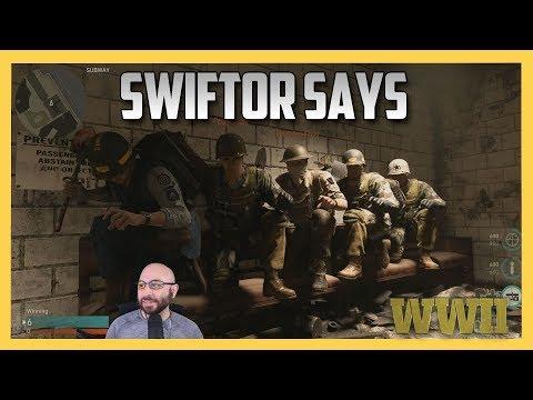 Swiftor Says Take A Seat - COD WW2