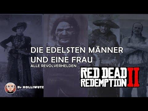 Red Dead Redemption 2 - Alle Revolverhelden - Die edelsten Männer und eine Frau