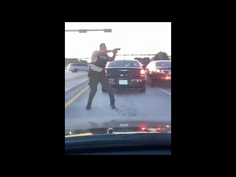 VIDEO: Incredible Video Shows Police Firing Upon Suspects During Miramar Shootout