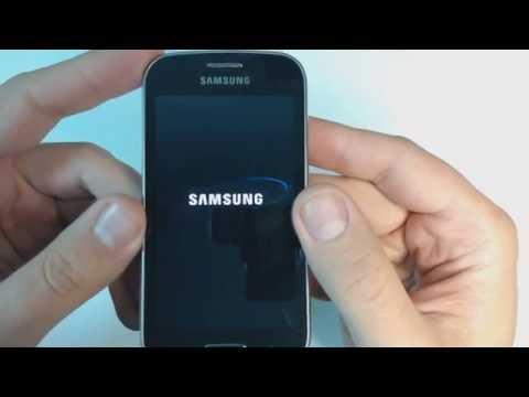 Samsung Galaxy Trend restablecer datos de fabrica