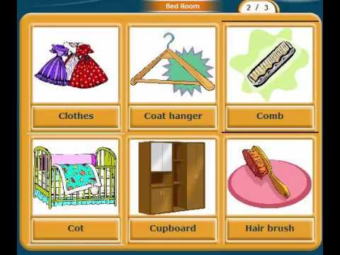 تعلم اللغة الإنجليزية |غرفة نوم Learn English | Bed Room