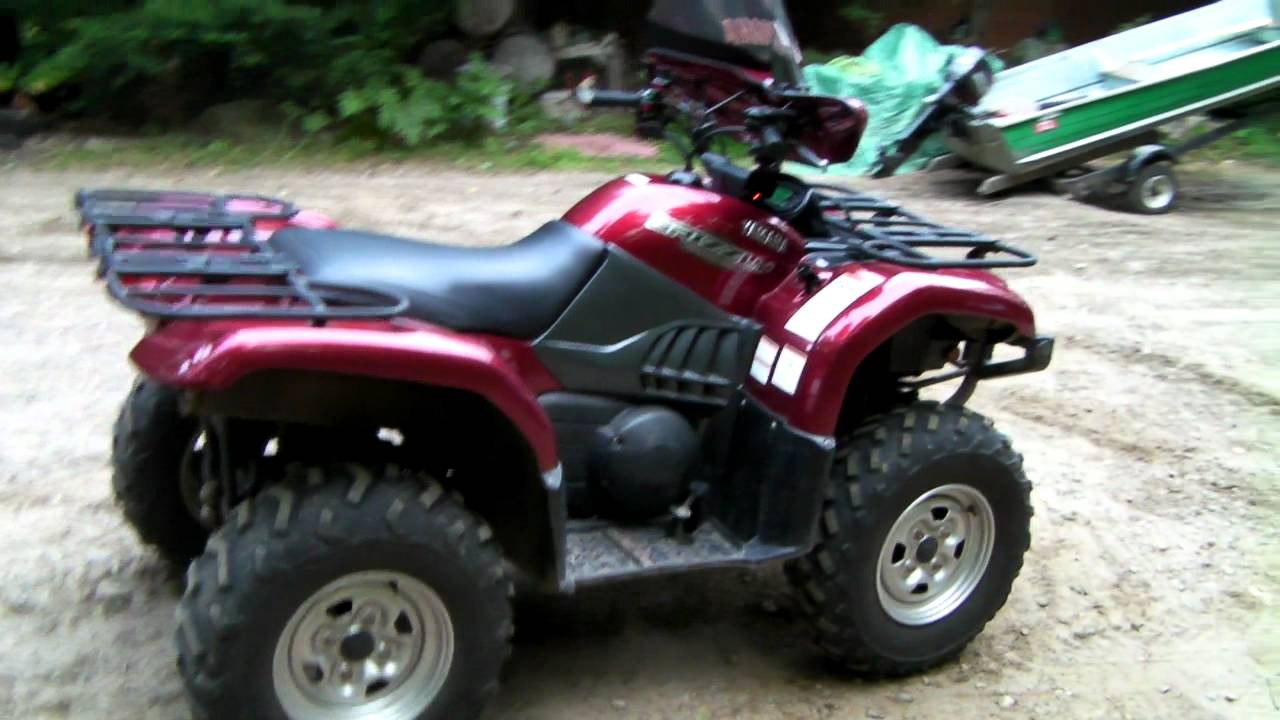 Yamaha grizzly 660 silver tip youtube for 2006 yamaha grizzly 660 value