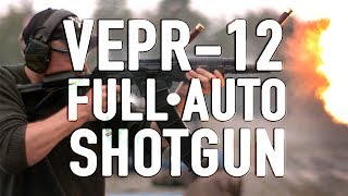 The VEPR-12 is the Ultimate Full Auto Shotgun