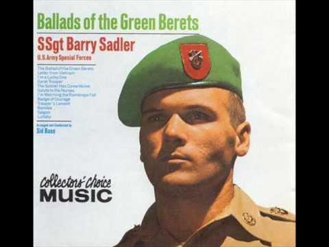 SSgt Barry Sadler - Saigon