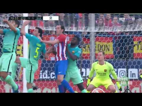 Atlético de Madrid 1-2 F. C. Barcelona (Filo González / Radio Cadena Sonora 96.9 FM)