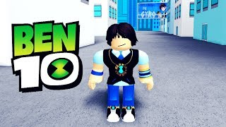 Entering Dimension 23 in Roblox Ben 10 Fighting Game