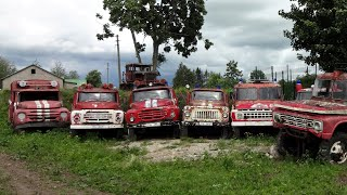 Легендарные советские автомобили || Ретро техника СССР под открытым небом || 3 сезон - начало
