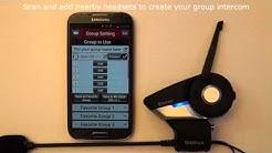 Sena 20S How To Video (Group Intercom Setup)