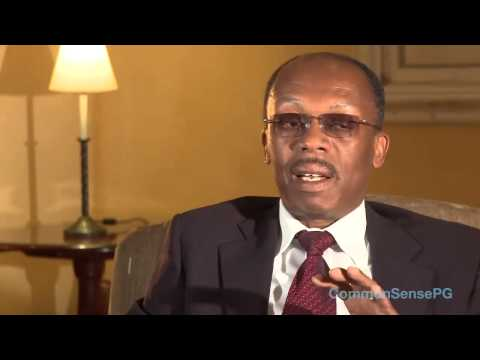 Interview with Jean-Bertrand Aristide in exile in South Africa Nov 2010