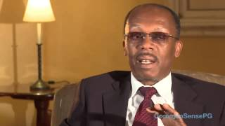 Gambar cover Interview with Jean-Bertrand Aristide in exile in South Africa Nov 2010