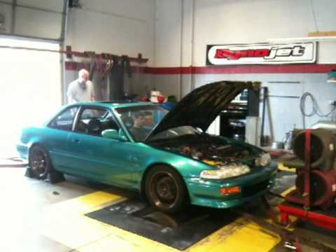 92 Integra GS R Dyno Pull