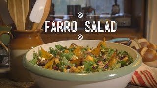 Roasted Root Vegetable And Farro Salad | Hungry For: Après-ski