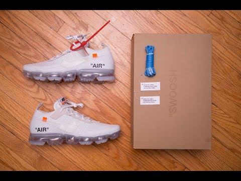 Off-White The Ten Part 2! || Nike Air Vapormax Flyknit The 10 'White Sail' by Off-White Review