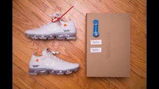 Off-White The Ten Part 2! || Nike Air Vapormax Flyknit The 10