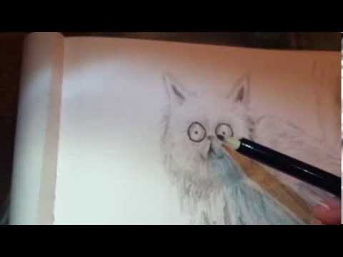 How To Draw Mr Whiskers Frankenweenie Animal Series How To Draw Like Tim Burton Youtube