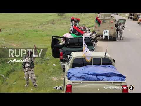 Libya: Footage emerges of Haftar