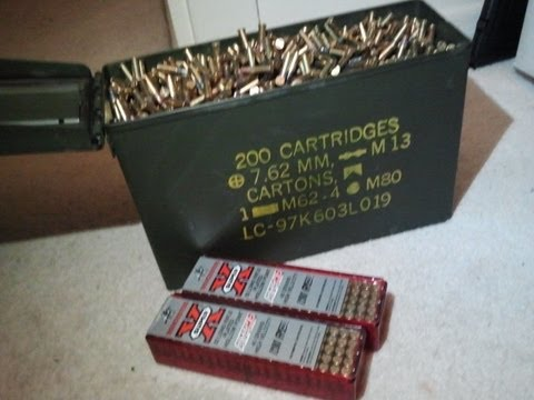 22lr Ammo Can 3250 Rounds Youtube