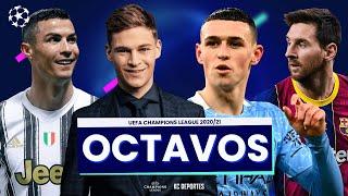 PREDICCIONES UEFA CHAMPIONS LEAGUE 2021 - Octavos de Final