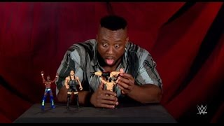 vuclip Big E unboxes Mattel's Super Strikers Slam 'N Launch Arena