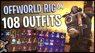 """Offworld Rig Back Bling on 108 Outfits 