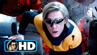 "DARK PHOENIX ""Quicksilver Saves Shuttle Crew"" Movie Clip (2019) X-Men"