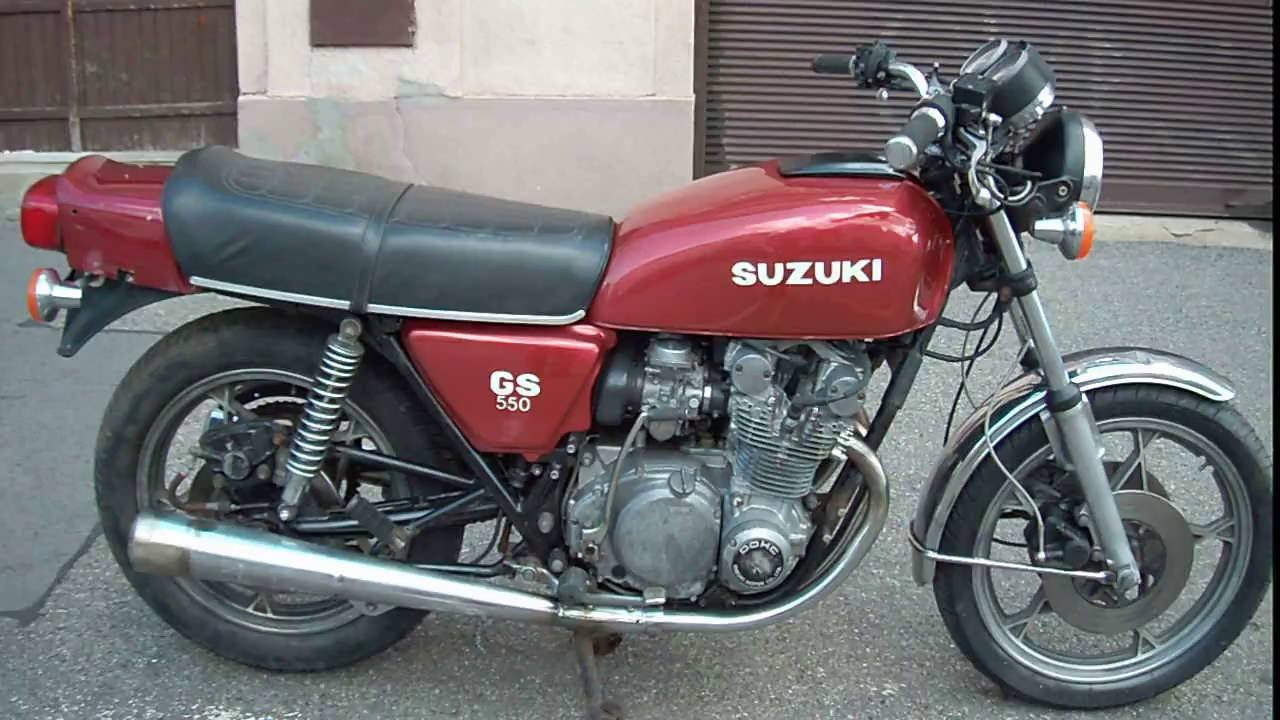 SUZUKI GS 550 - 1980 - YouTube