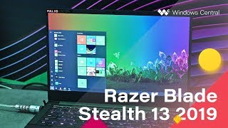 This is the new Razer Blade Stealth 13 with an NVIDIA GTX 1650 inside!