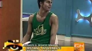 Dura pelea entre Martin Pepa y Cristian U - Gran Hermano Argentina 2011