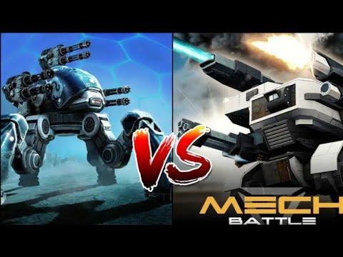 War Robots VS Mech Battle Robot Warfare | COMPARISON |