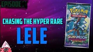 Pokemon Cards Opening - Chasing the Hyper Rare Lele (Hyper Rare Pulled)