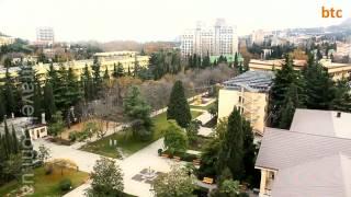 Санаторий «Золотой колос», Крым, г  Алушта   btravel com ua(, 2012-12-21T18:37:43.000Z)