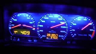 Мой пассик! Volkswagen Passat B3 Universal 2.0i (2E) 8v GT 205 км/ч Витебск.AVI