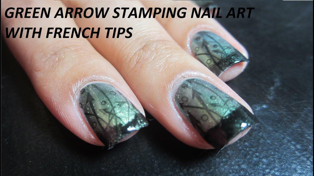 Green arrow stamping nail art tutorial using pueen image plates green arrow stamping nail art tutorial using pueen image plates youtube prinsesfo Choice Image