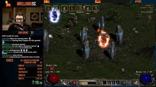 Diablo 2 - Hell 8 Man Speedrun! - 2:11:50 - getting back into the swing of it