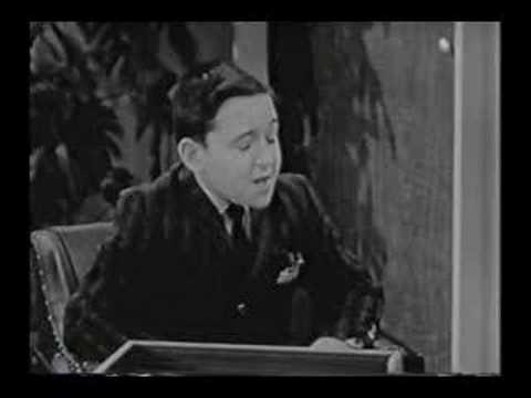 Barry Gordon on Jack Benny
