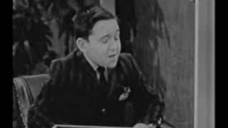 Barry Gordon on Jack Benny