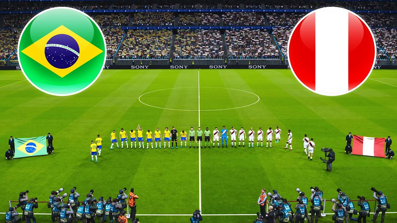 Brazil vs Peru Live HD| Copa America 2021 Semi-final Gameplay