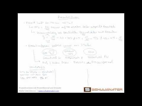 prozentrechnung dreisatz übungen