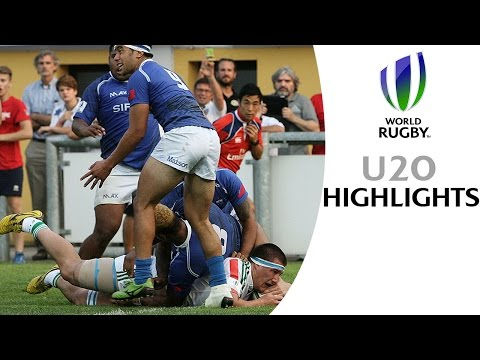 HIGHLIGHTS: Samoa 30-24 Italy at World Rugby U20s