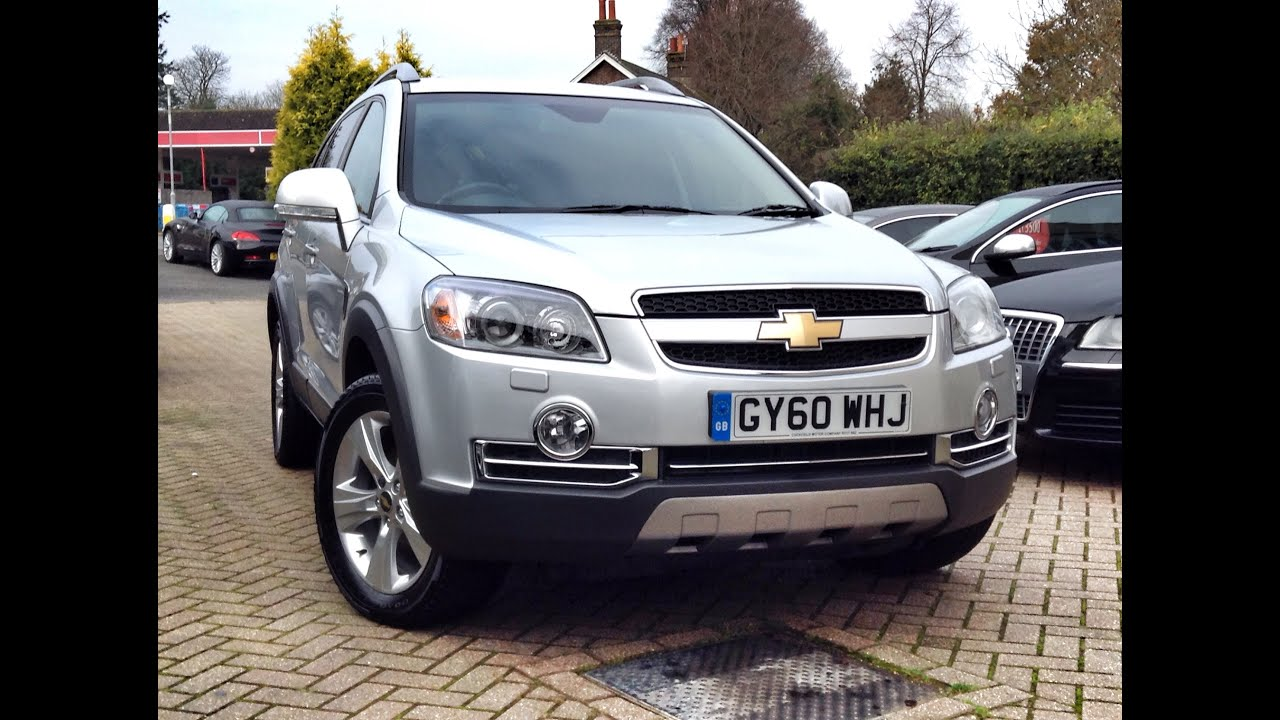 ltz vauxhall captiva watch at chevrolet sale silver for toomey southend